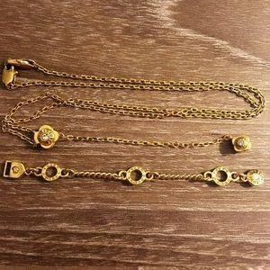 Henri Bendel Flower Necklace
